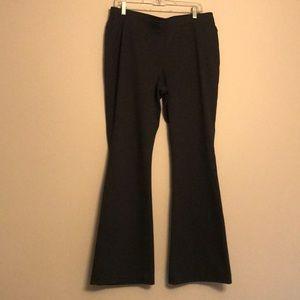 Chico's Dark Grey Bootleg Pants - Size L/12